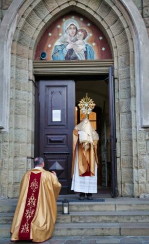 błogosławieństwo drzwii
