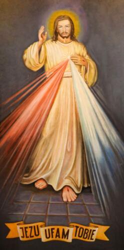 obraz jezus miłosierny